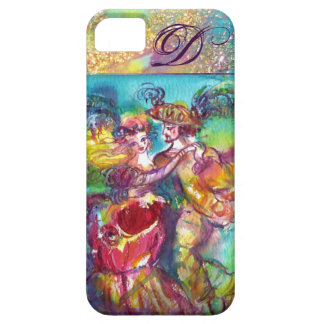 MASQUERADE NIGHT / CARNIVAL DANCE MONOGRAM CASE FOR THE iPhone 5