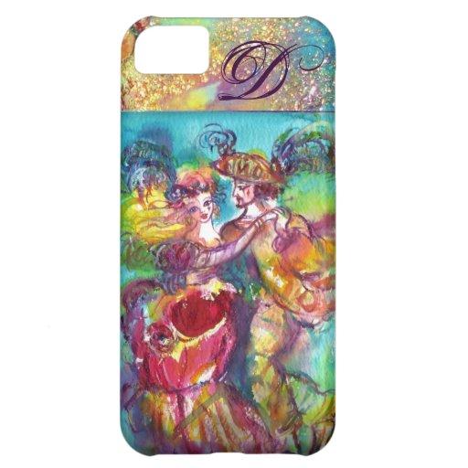 MASQUERADE NIGHT / CARNIVAL DANCE MONOGRAM iPhone 5C CASE