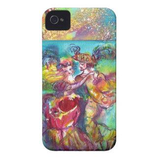 MASQUERADE NIGHT / CARNIVAL DANCE MONOGRAM Case-Mate iPhone 4 CASES