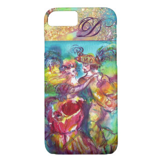 MASQUERADE NIGHT / CARNIVAL DANCE MONOGRAM iPhone 7 CASE