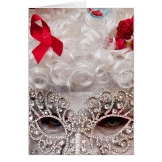 Masquerade Note Card