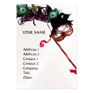 MASQUERADE PARTY pearl Business Card