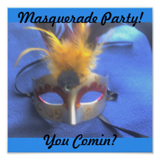 Masquerade  Print
