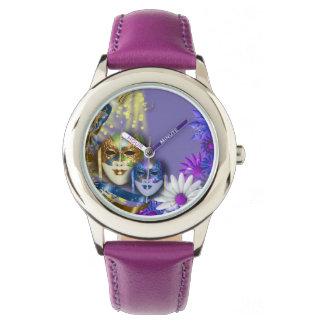 Masquerade quinceanera Venetian masks Wristwatch