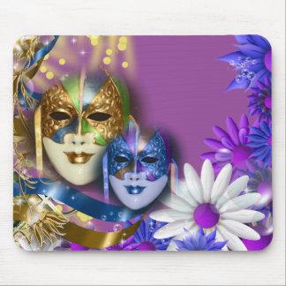 Masquerade quinceanera Venetian masks Mouse Mat