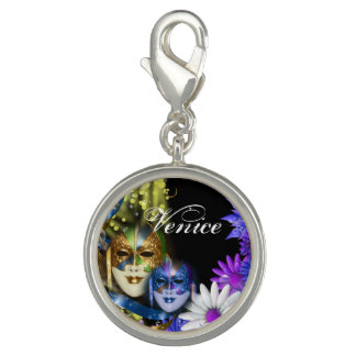 Masquerade quinceanera Venetian masks PERSONALIZE Charms