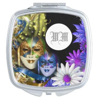 Masquerade quinceanera Venetian masks PERSONALIZE Vanity Mirror