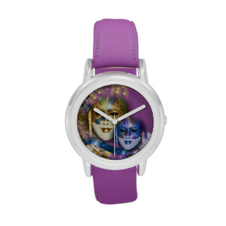Masquerade quinceanera Venetian masks PERSONALIZE Watches
