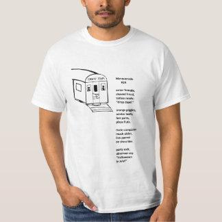 """""""Masquerade"""" Subway T-Shirt"""