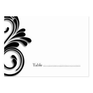 Masquerade Table Seating Cards Business Cards
