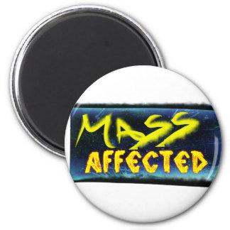 Mass Affected Refrigerator Magnets