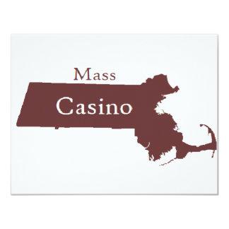 Mass Casino Store 11 Cm X 14 Cm Invitation Card
