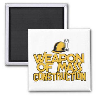 Mass Construction custom magnet