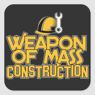 Mass Construction custom stickers