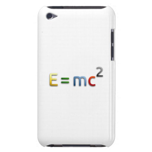 Mass-Energy Equivalence Formula iPod Touch Covers