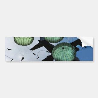 Mass Jump Mission, Parachutes, U.S. Army Bumper Sticker