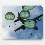 Mass Jump Mission, Parachutes, U.S. Army Mouse Pads