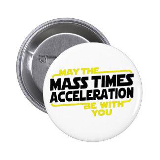 Mass Times Acceleration Pins