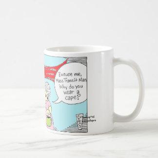 MASS TRANSIT MAN, TheStripMallbyChrisRogers Coffee Mug