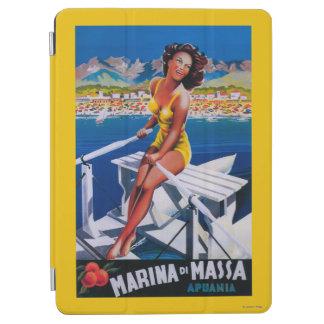 Massa Marina Travel Poster iPad Air Cover