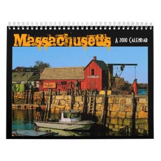 Massachusetts 2010 Calendar