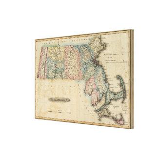 Massachusetts 4 canvas print