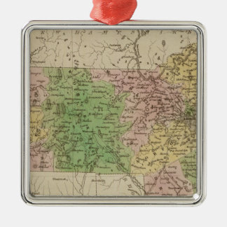 Massachusetts 4 christmas ornament