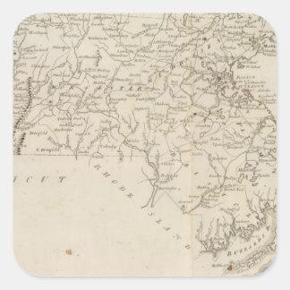 Massachusetts 4 square sticker
