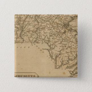 Massachusetts 5 15 cm square badge