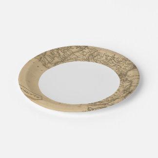 Massachusetts 5 7 inch paper plate