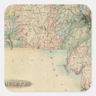 Massachusetts 5 stickers