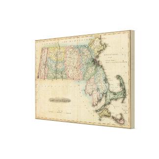 Massachusetts 6 canvas print