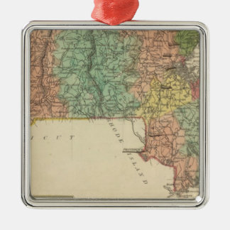 Massachusetts 6 christmas ornament