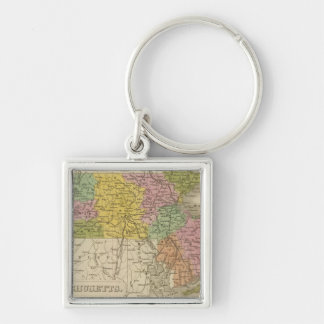 Massachusetts 7 key ring