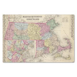 Massachusetts And Rhode Island 2 Tissue Paper