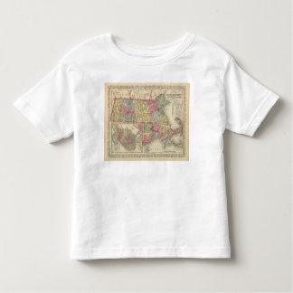 Massachusetts and Rhode Island 2 Toddler T-Shirt