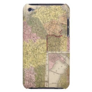 Massachusetts And Rhode Island iPod Case-Mate Case