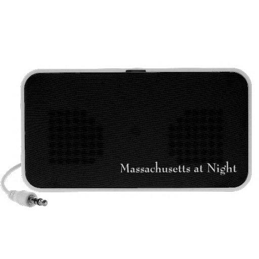 Massachusetts at Night iPod Speaker