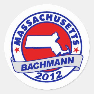 Massachusetts Bachmann Sticker