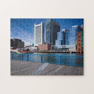 Massachusetts, Boston, Federal Reserve Bank Jigsaw Puzzle
