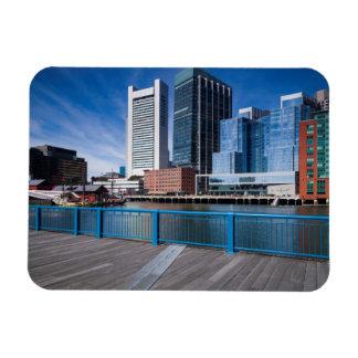 Massachusetts, Boston, Federal Reserve Bank Rectangular Photo Magnet