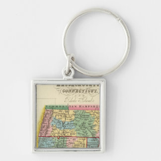 Massachusetts, Connecticut, Rhode Island Key Ring