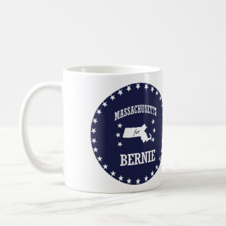 MASSACHUSETTS FOR BERNIE SANDERS COFFEE MUG