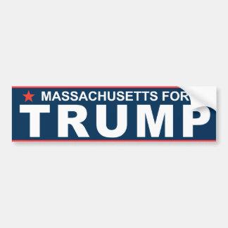 Massachusetts for Trump 2016 Bumper Sticker