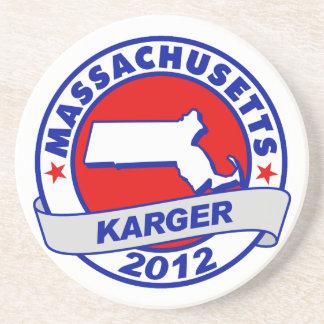 Massachusetts Fred Karger Coaster
