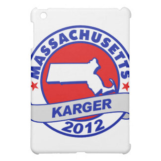 Massachusetts Fred Karger iPad Mini Cover