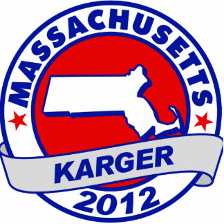 Massachusetts Fred Karger Photo Cut Out