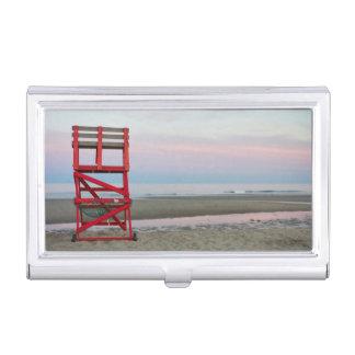 Massachusetts, Gloucester, Good Harbor Beach Business Card Holder
