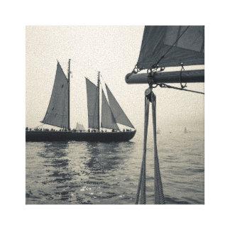 Massachusetts, Gloucester, Schooner Festival 2 Canvas Print