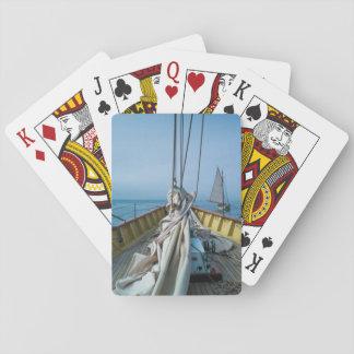 Massachusetts, Gloucester, Schooner Festival 3 Playing Cards